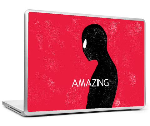 Laptop Skins, Amazing Spiderman Minimal Laptop Skin, - PosterGully