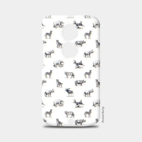 Safari Animal Moto X2 Cases | Artist : Dinesh kumar