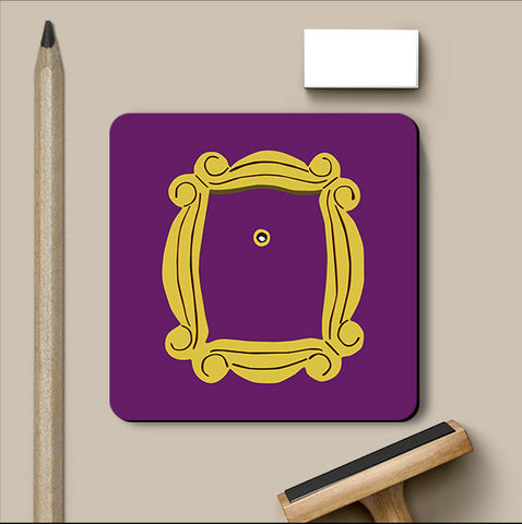 PosterGully Coasters, Friends Peephole Coaster, - PosterGully
