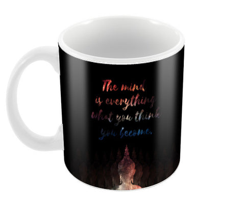 Buddha Quote - Motivational!! Coffee Mugs | Artist : Dolly P