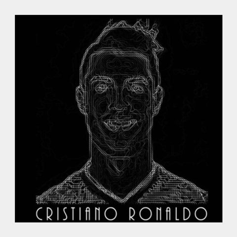 Ronaldo  Square Art Prints PosterGully Specials