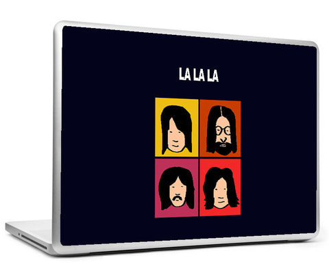Laptop Skins, Beatles La La La Pop Art Laptop Skin, - PosterGully