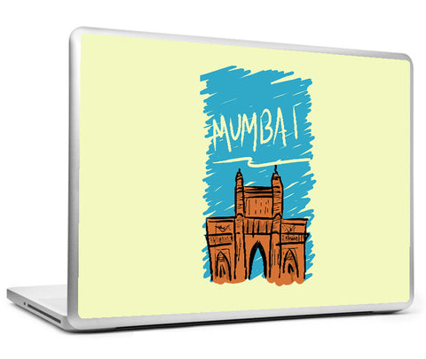 Laptop Skins, Mumbai - Sketch Laptop Skin, - PosterGully