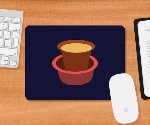 Mousepads, South Indian Chai Mousepad, - PosterGully