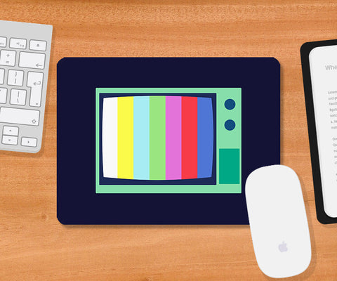 Mousepads, Television Minimal Mousepad, - PosterGully
