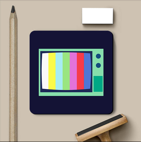 PosterGully Coasters, Television Minimal Coaster, - PosterGully
