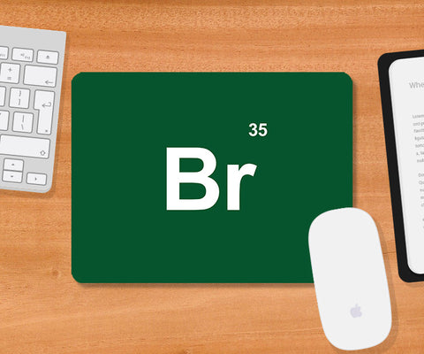 Mousepads, Breaking Bad Br Element Mousepad, - PosterGully