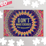 Typography Jigsaw Puzzles | Artist : Delusion