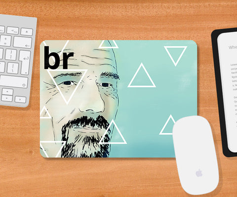 Mousepads, Breaking Bad Triangles Mousepad, - PosterGully