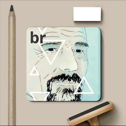 PosterGully Coasters, Breaking Bad Triangles Coaster, - PosterGully