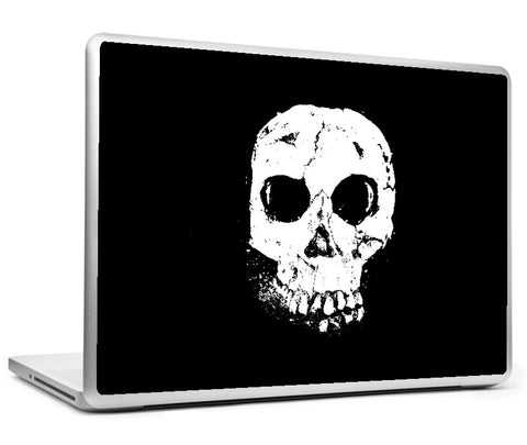 Laptop Skins, Sugar Skull Black Artwork Laptop Skin, - PosterGully