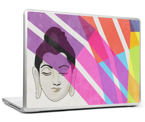 Laptop Skins, Buddha Color Rays Laptop Skin, - PosterGully