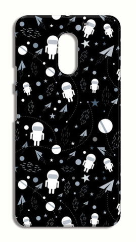 Astronaut black and white LeEco Le2 Cases | Artist : Designerchennai