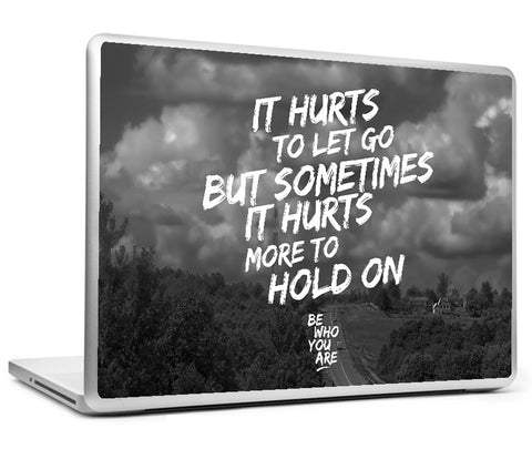 Laptop Skins, It Hurts #bewhoyouare Laptop Skin, - PosterGully