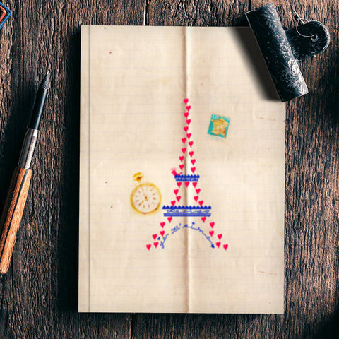 Paris Notebook | Artist : Ayushi Teotia