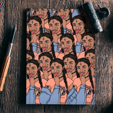 Goddess Kali Collage Notebook | Artist : Priyanka Paul