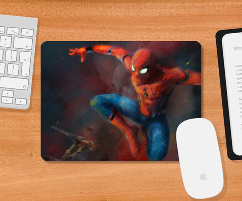 Spider - Man : Homecoming Mousepad | Artist : Anupam Prasoon