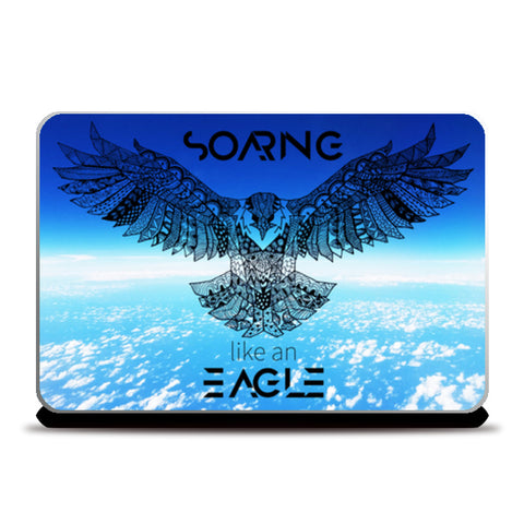 Soaring Eagle | The Ultimate Laptop Skins | Artist : Pragya Bhandari