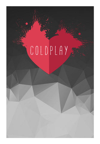COLDPLAY Art PosterGully Specials