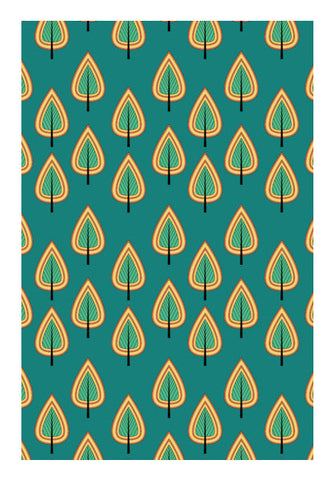 Leaf design pattern  Wall Art | Artist : Designerchennai