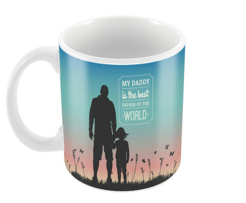 Father Daughter Love | #Father's Day Special  Coffee Mugs | Artist : Creative DJ