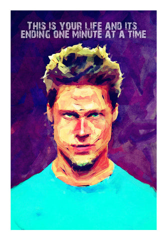 Wall Art, brad pitt fan art Wall Art | Artist : abhijeet sinha, - PosterGully