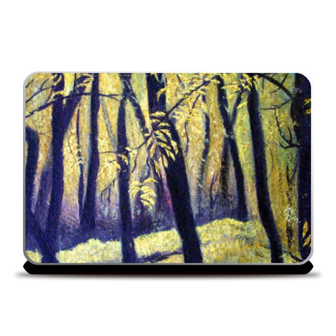 Laptop Skins, golden winter Laptop Skin | Raji Chacko, - PosterGully