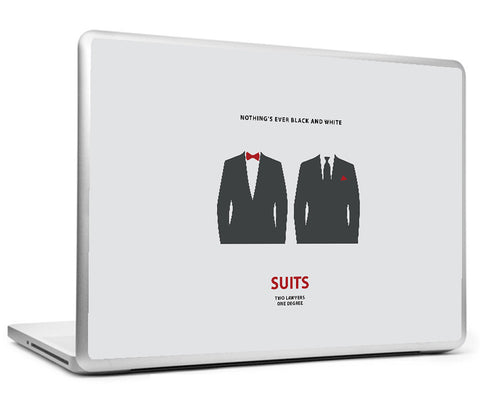 Laptop Skins, Suits Minimal Art Laptop Skin, - PosterGully