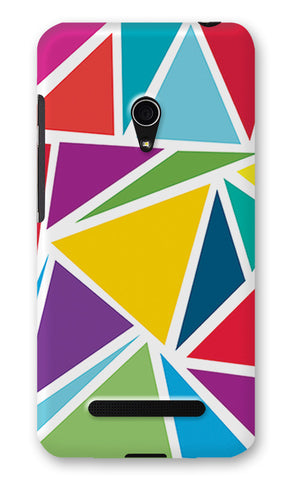 Abstract Colorful Triangles | Asus Zenfone 5 Cases