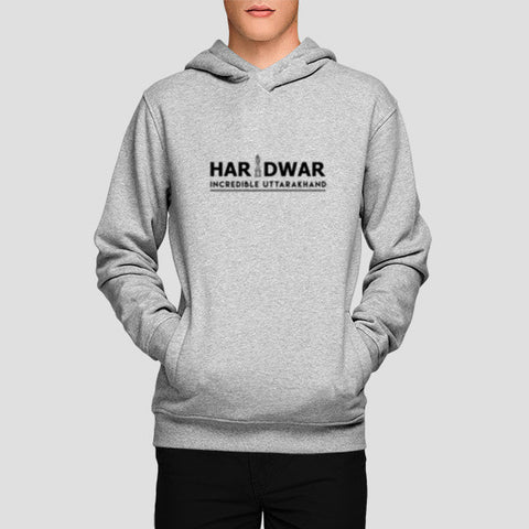 Haridwar Incredible Uttarakhand Hoodies | Artist : Tripund Media Works