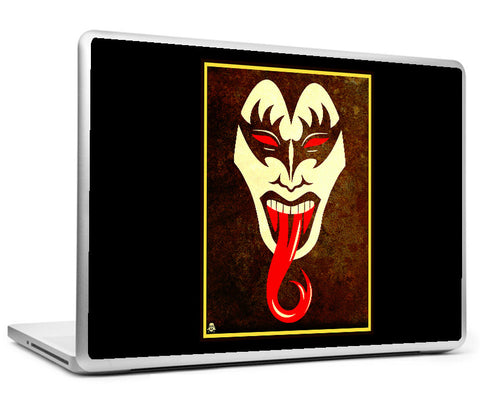 Laptop Skins, Face Off KISS Laptop Skin, - PosterGully