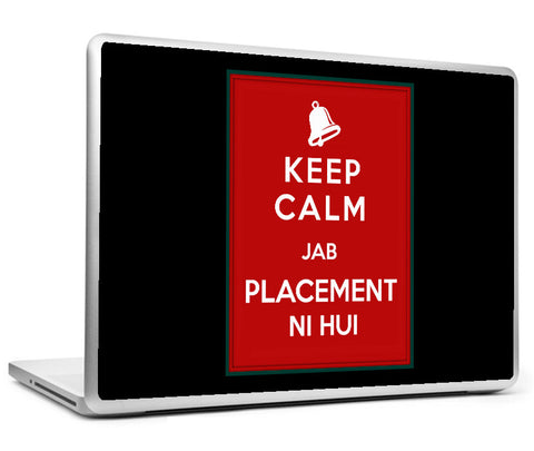 Laptop Skins, Keep Calm Placement Laptop Skin, - PosterGully