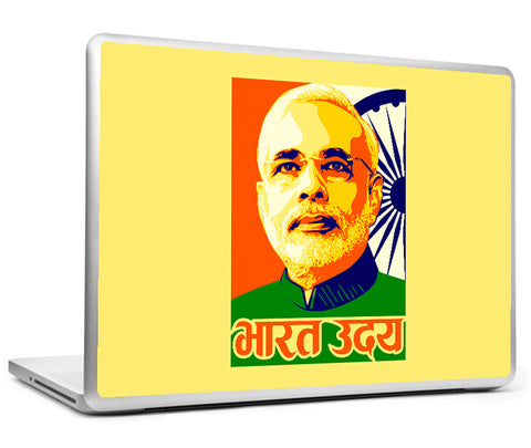 Laptop Skins, Modi BJP Vision Laptop Skin, - PosterGully