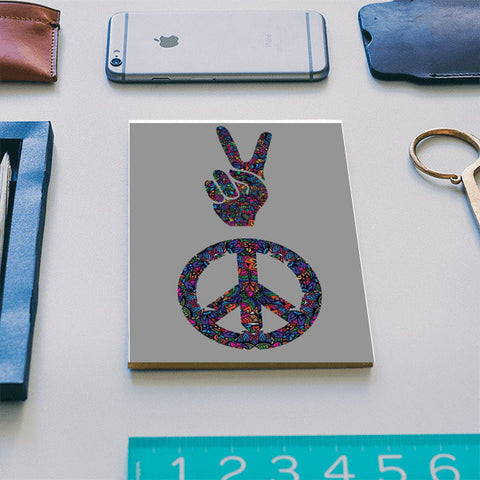 peace notebook Notebook | Artist : Navdeep Sharma