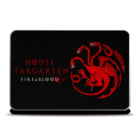 Laptop Skins, House Targaryen - Game Of Thrones Laptop Skins | Artist : Gurmeet, - PosterGully