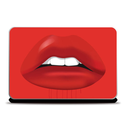 kisss Laptop Skins | Artist : Scatterred Partikles