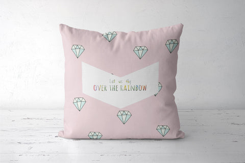 A cute pink cushion cover  Cushion Covers | Artist : Mohor