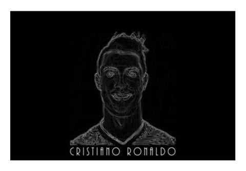 PosterGully Specials, Ronaldo Wall Art | Artist : Ayush Yaduv, - PosterGully