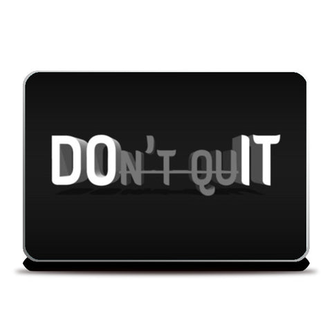 Do It Now Laptop Skins | Artist : Ajay Seth | Special Deal - Size 15.6
