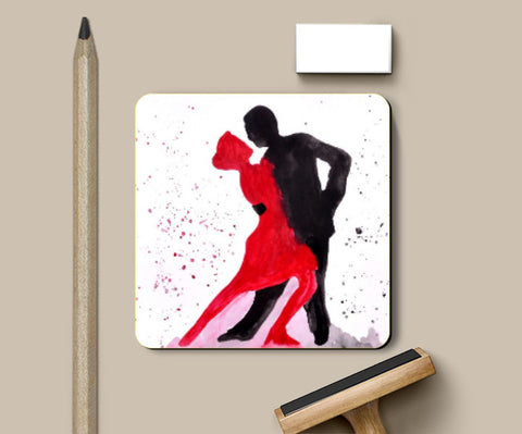 Coasters, Dancing Coupl Coaster | Shweta D, - PosterGully