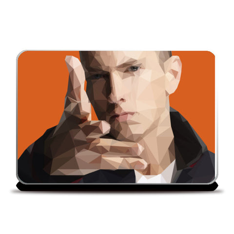 Eminem Polygon  Laptop Skins | Artist : Jason Ferrao