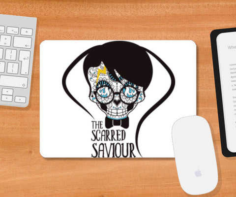 The Scarred Saviour-Harry Potter Mousepad | Artist : Abhay Sigh Sengar