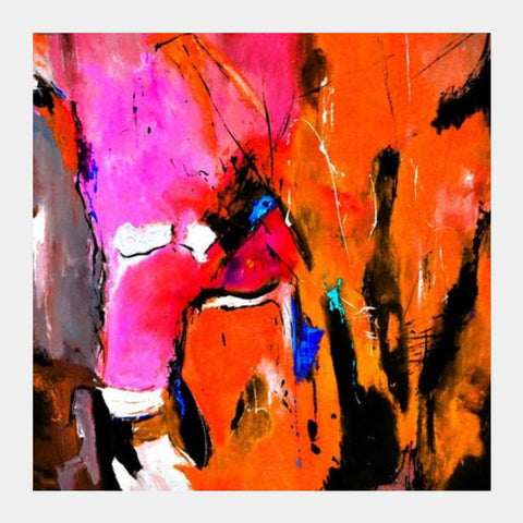 Abstract 88pink Square Art Prints PosterGully Specials