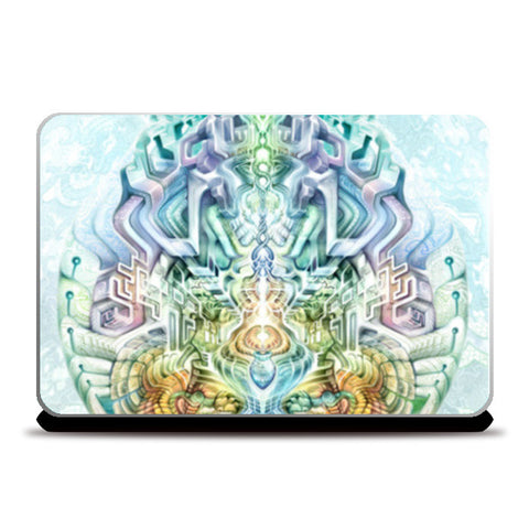 Abstract Laptop Skins | Artist : Randolph Matthias