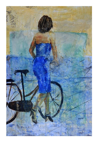 aside her cycle Wall Art | Artist : pol ledent