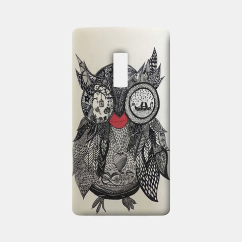The Mystic Owl One Plus Two Cases | Artist : Quirky Designs by Priyanka Singhania