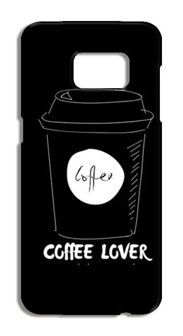 coffee lover Samsung Galaxy S7 Edge Cases | Artist : Pallavi Rawal