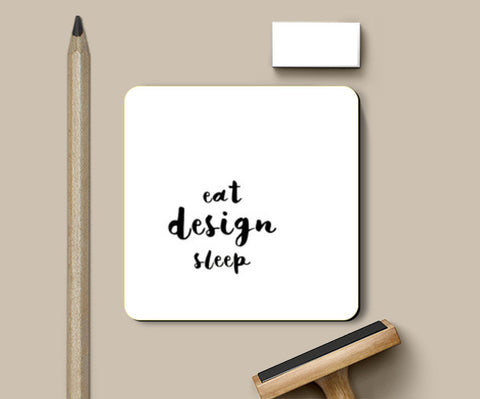 Eat Design Sleep Coasters | Artist : Shreya Ahuja