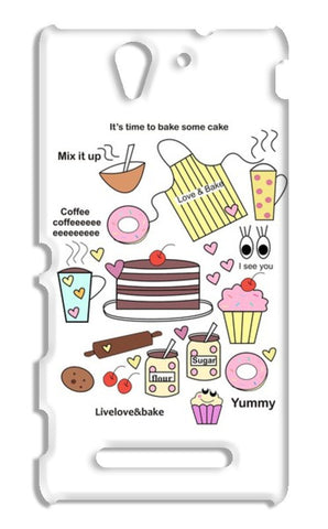 baking = happiness Sony Xperia C3 S55t Cases | Artist : mytablecreations