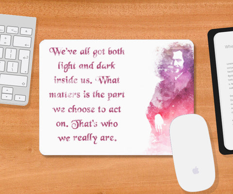 Harry Potter-Sirius Black quote Mousepad | Artist : Naeema Rezmin